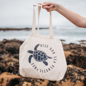 Stoked Eco Tote Bag - Stokedthebrand. Lifestyle products for outdoor adventures. Made in South Africa