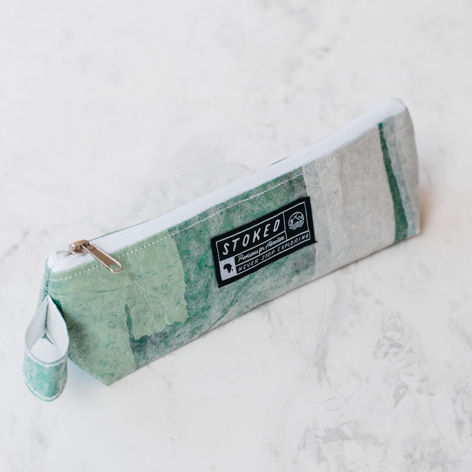 Upcycled Pencil Bag - Stokedthebrand. Lifestyle products for outdoor adventures. Made in South Africa