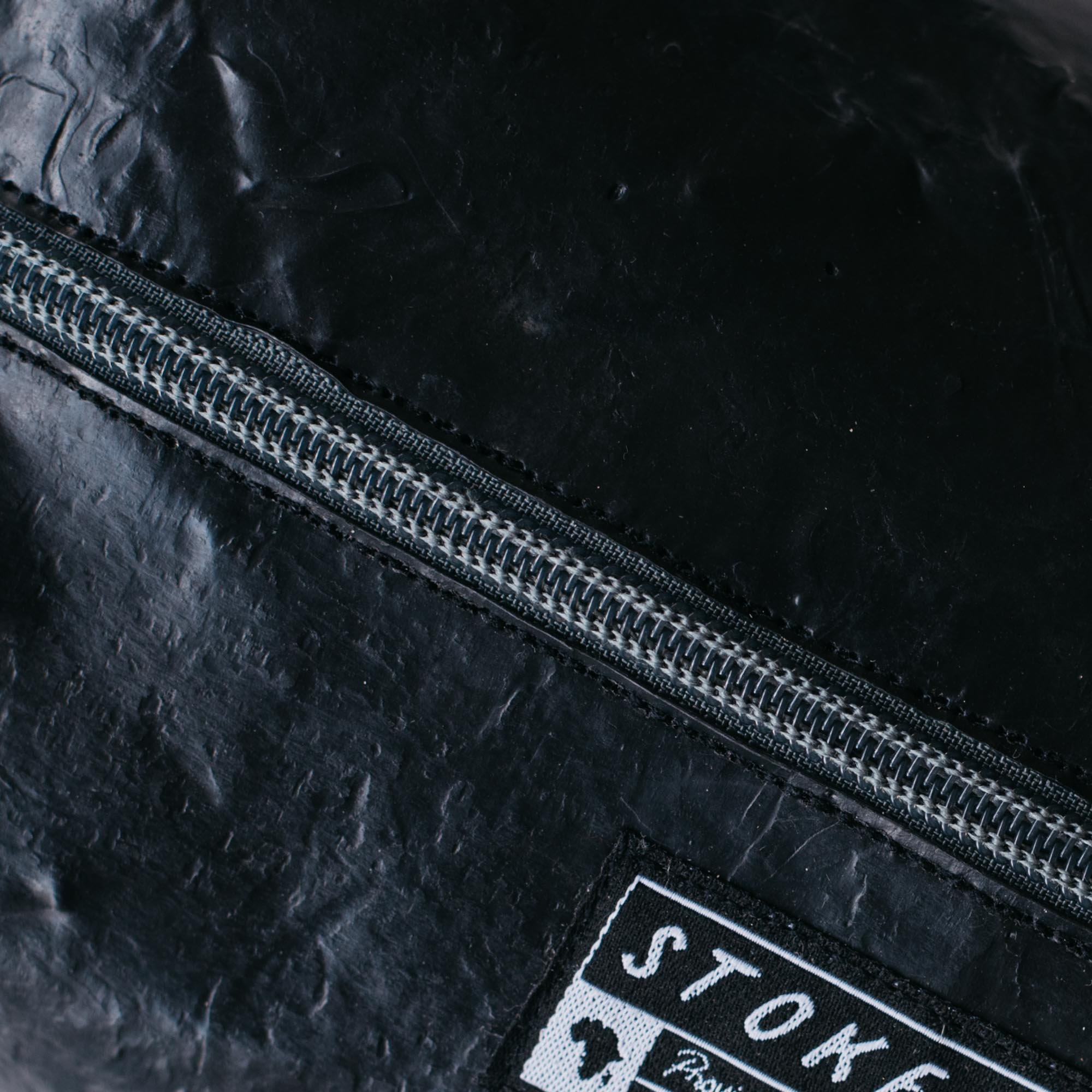 Upcycled Toiletry Bag • Karoo Black - Stokedthebrand. Lifestyle products for outdoor adventures. Made in South Africa