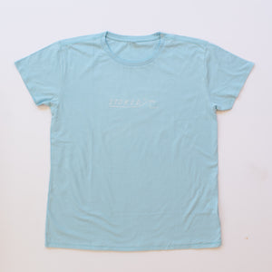 Ladies Ocean Blue Wave T-Shirt - Stokedthebrand. Lifestyle products for outdoor adventures. Made in South Africa