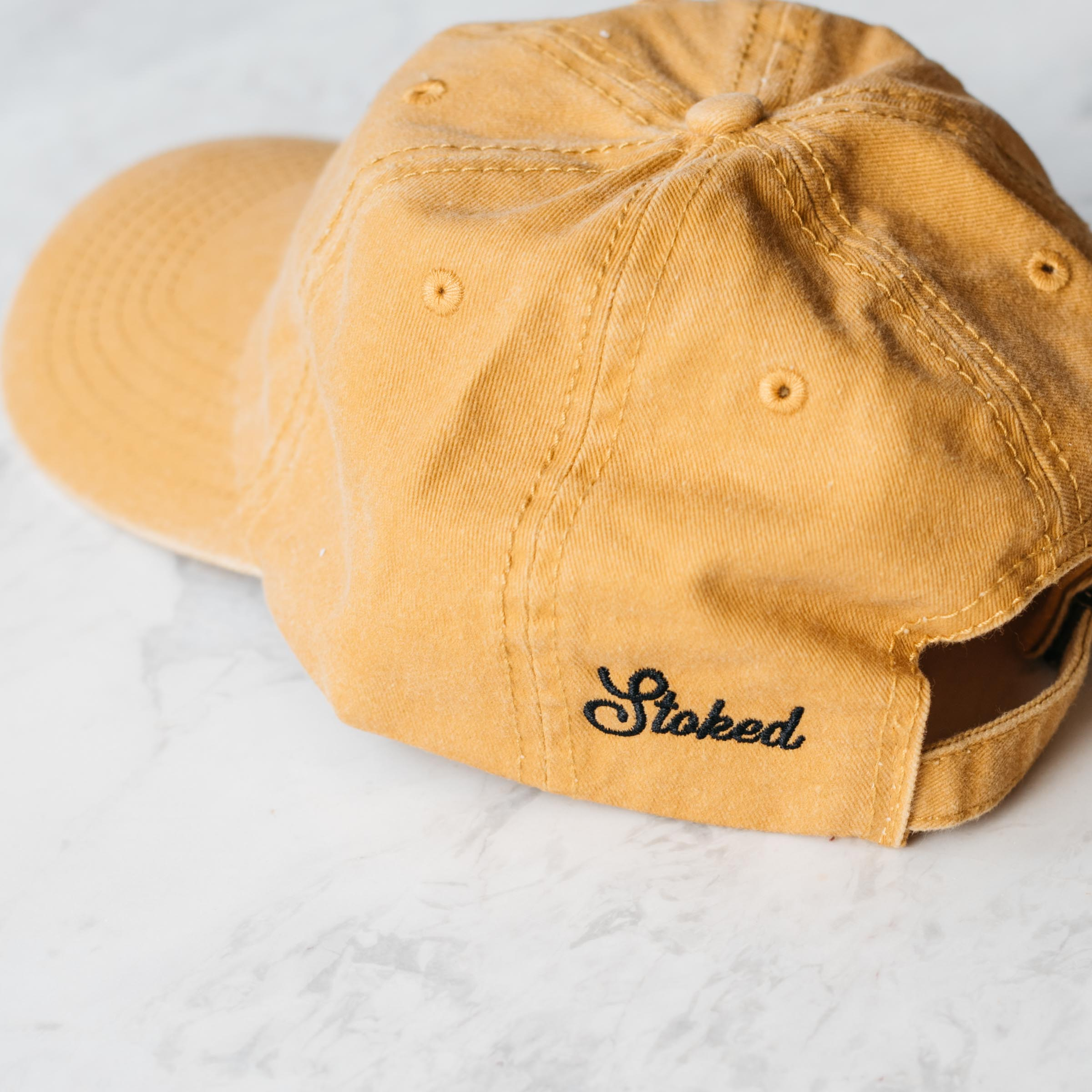 The Mustard Kombi Cap - Stokedthebrand. Lifestyle products for outdoor adventures. Made in South Africa