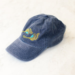Local Motion Washed Navy Cap - Stokedthebrand. Lifestyle products for outdoor adventures. Made in South Africa