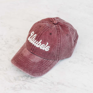 Ububele Maroon Cap - Stokedthebrand. Lifestyle products for outdoor adventures. Made in South Africa