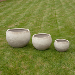 Babington Pot - Stone - Set of 3