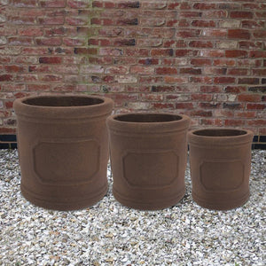 Bosworth Pot - Rust - Set of 3