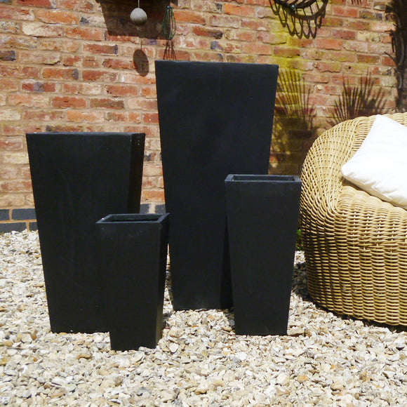 Clarendon Pot - Black - Set of 4
