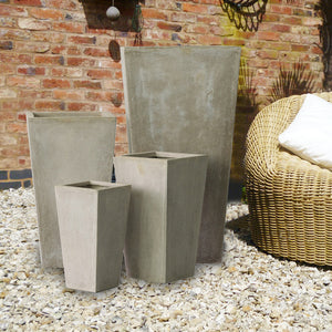 Clarendon Pot - Stone - Set of 4