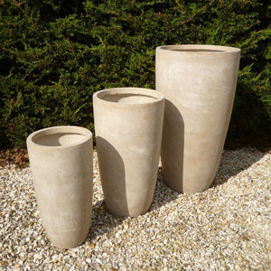 Cottesmore Pot - Stone - Set of 3