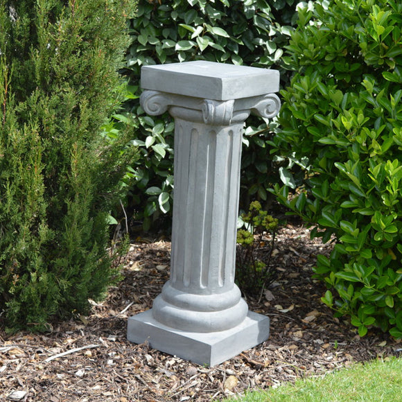 Newstead Scroll Plinth - Ancient Stone