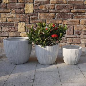 Wirksworth Pot - White - Set of 4