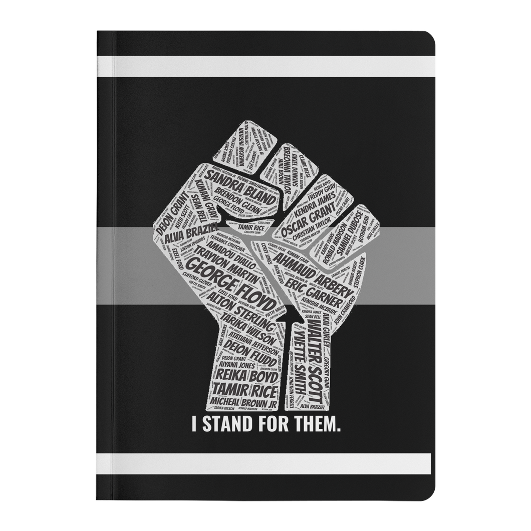 'I Stand For Them' Paperback Journal