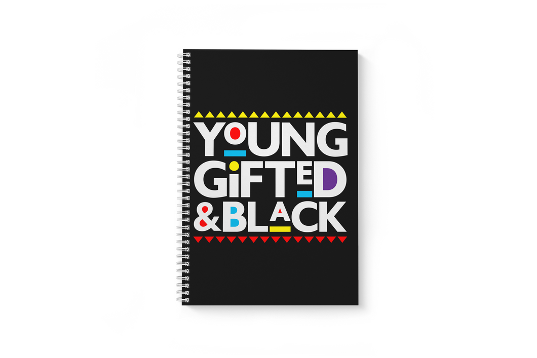 Young Gifted & Black 1-Subject, 8 1/2