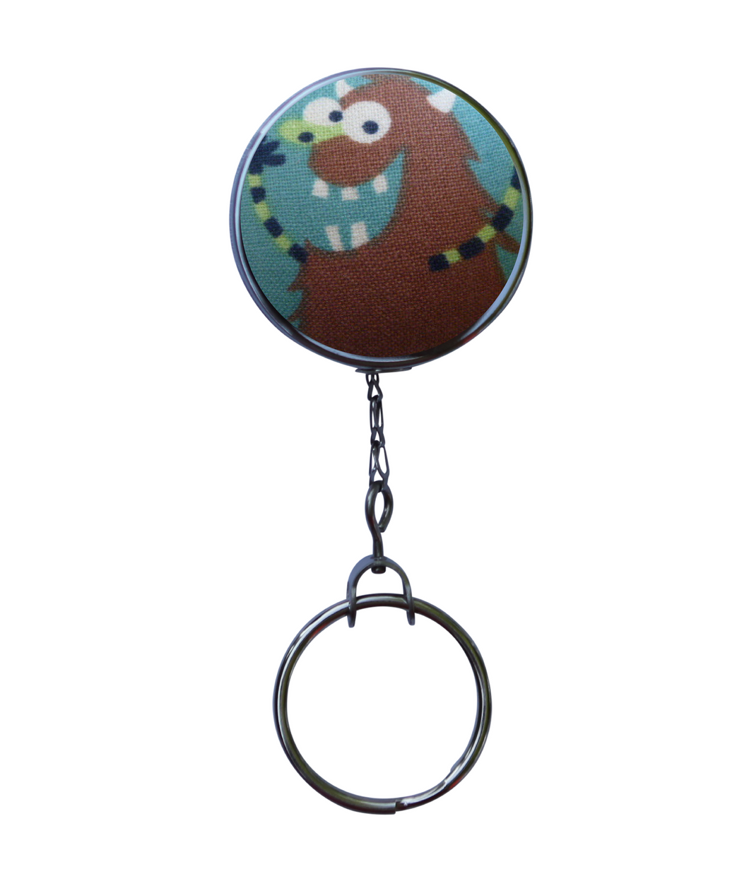 Retractable ID Badge Reel - Silly Monster