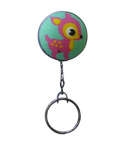 Bambi Retractable ID Badge Reel