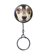Cute Beagle Dog Print Retractable ID Badge Reel
