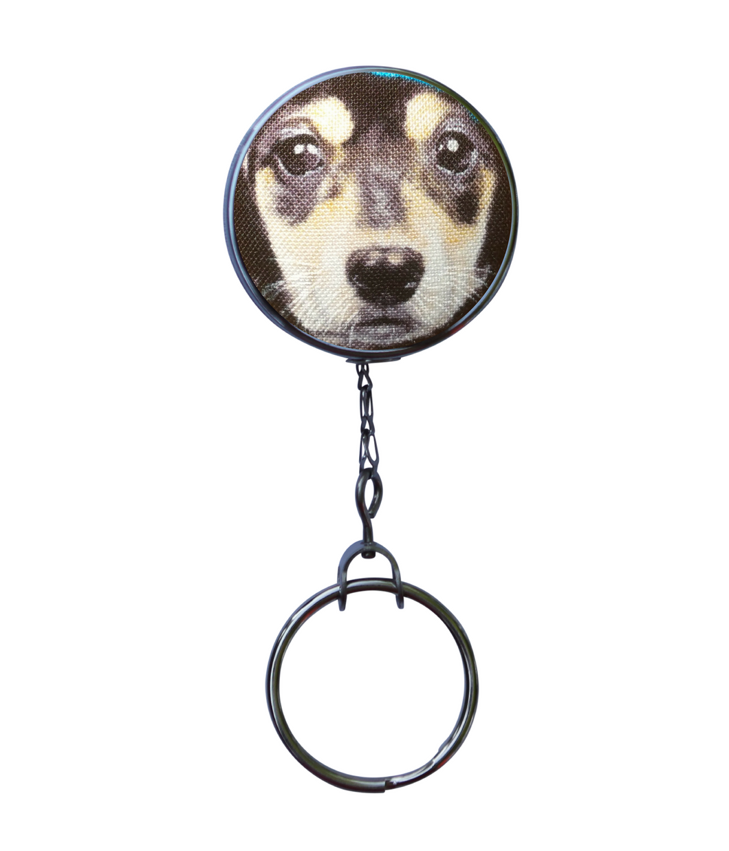 Retractable ID Badge Reel - Cute Beagle Dog