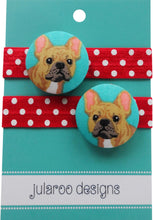 French Bulldog Hair Ties