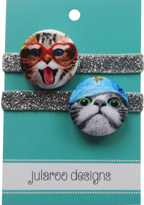 Happy Cats Hair Ties - 3 Colors to Choose From