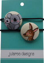 Adorable Koala and Kangaroo Hair Ties - 2 Colors to Choose From