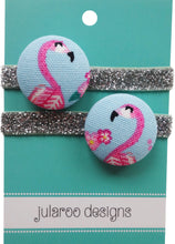 Pink Flamingo Hair Ties - 2 Colors to Choose From