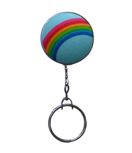 Retractable ID Badge Reel - Rainbow