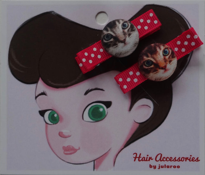 Cute Cats Hair Clips