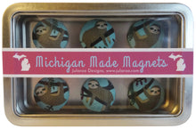 Sloth Magnets Set of 6
