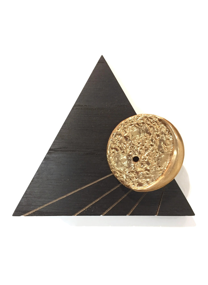 Moonshine Incense Holder Triangle