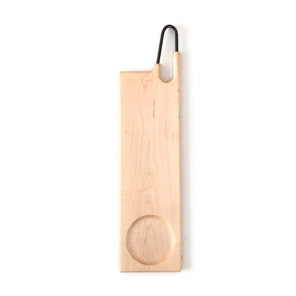 Lunar Cheese+Olive Serving Board -Maple-