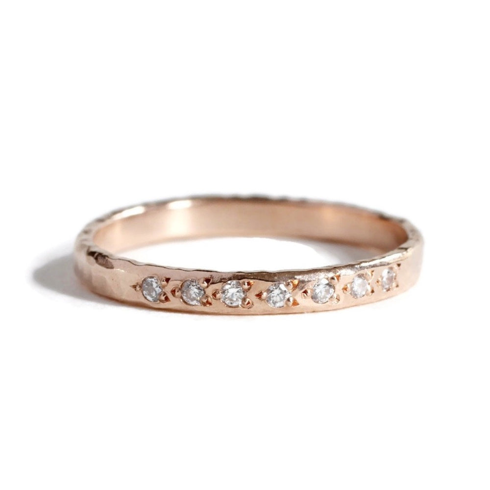 Load image into Gallery viewer, Wholesale 7 Star Diamond Ring -R130YG, R130PG,R130WG