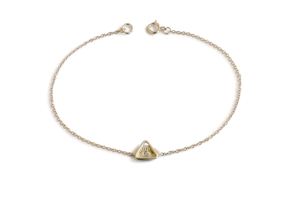 Spirit Eye+Triangle Bracelet