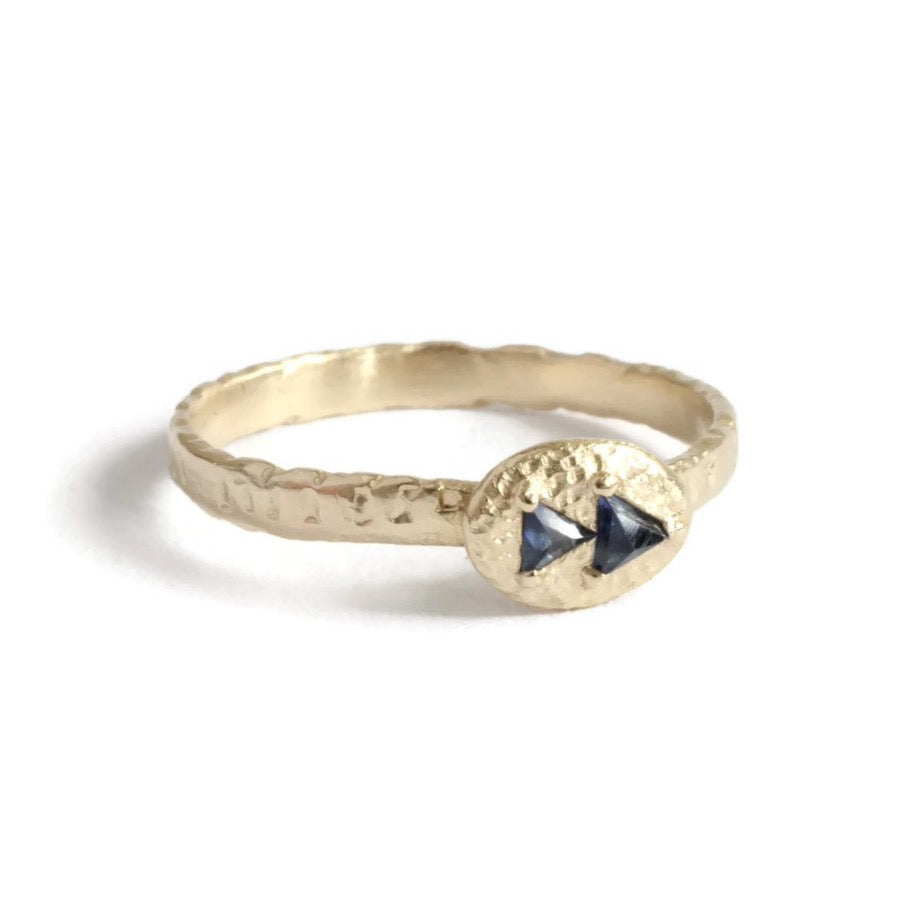 Indigo Arrow Ring
