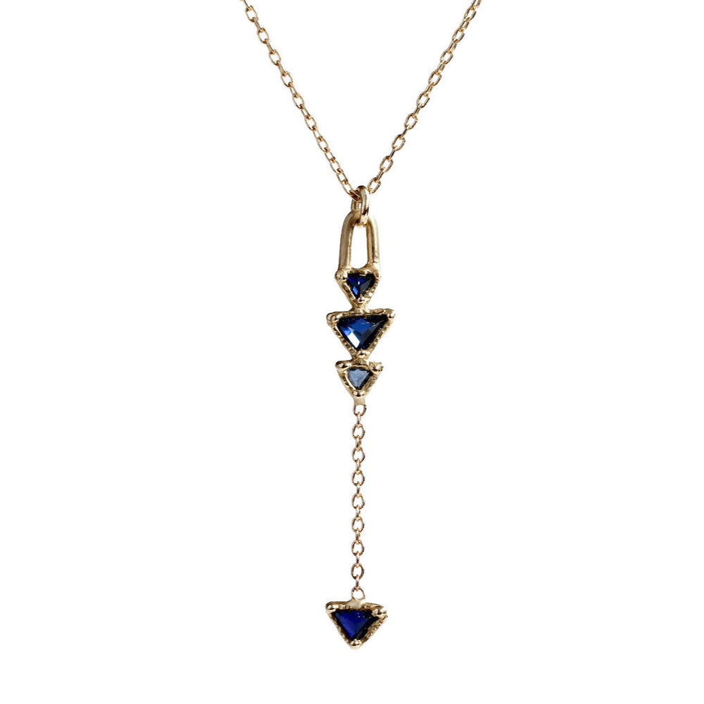 Indigo Arrow Necklace