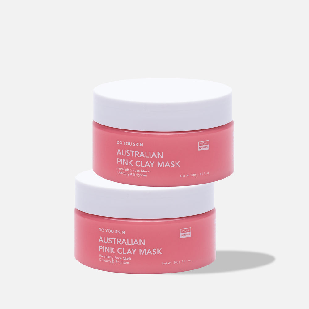 Double Trouble Australian Pink Clay Mask