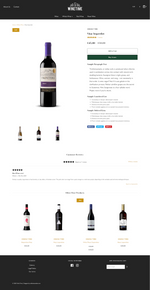 Winery Ecommerce Original Design