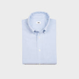 The Oxford Shirt | Light Blue Striped