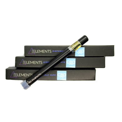 ELEMENTS - CBD Disposable Vape Pen [300mg]