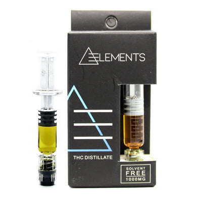 Elements: THC Distillate Syringe [1000mg]