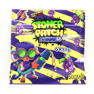 Grape Stoner Patch Dummies THC [500mg]