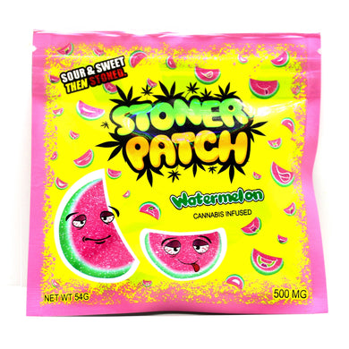 Watermelon Stoner Patch Dummies THC [500mg]