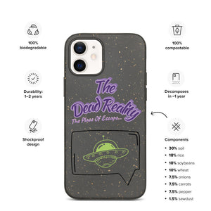 The Dead Reality Biodegradable IPhone Case