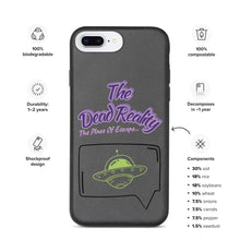 Load image into Gallery viewer, The Dead Reality Biodegradable IPhone Case