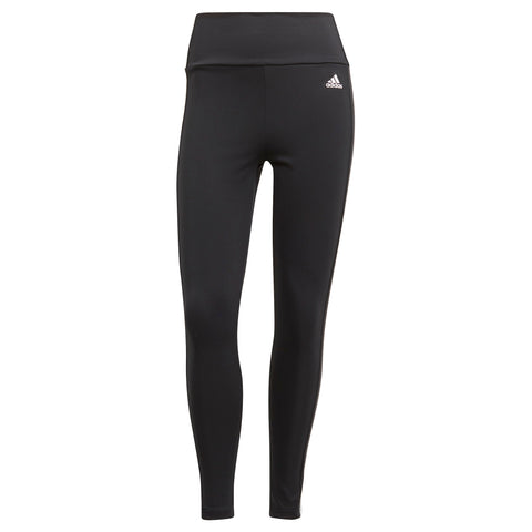Adidas 3-Stripes 7/8 Legging - BLACK/WHITE