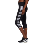 Adidas Believe This 2.0 3-Stripes 3/4 Tights - BLACK