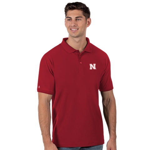 Nebraska Huskers Legacy Polo - RED