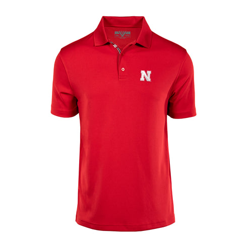 Nebraska Huskers Omaha Polo - AC0RED