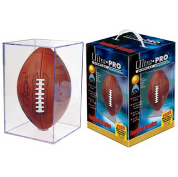 Ultra Pro UV Football Cube - BASIC
