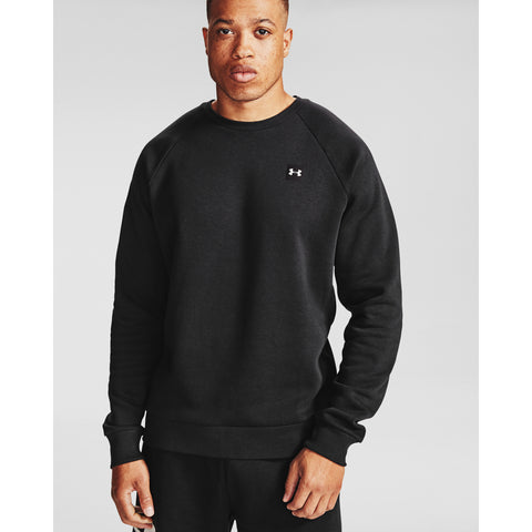 Under Armour Rival Fleece Crew - 001 - BLACK