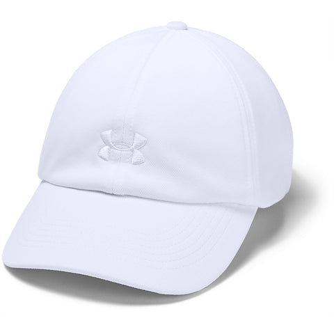 Women's Under Armour Play Up Hat - 100 - WHITE/BLACK