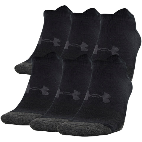 Under Armour Performance Tech No Show 6-Pack